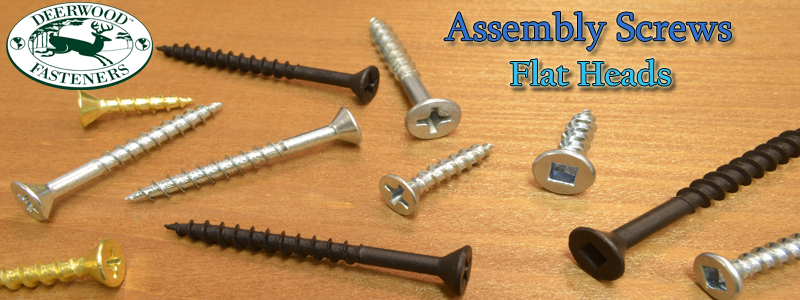 Assembly Screws Flat Head