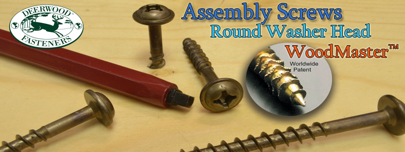 Assembly Screws Round Washer WoodMaster