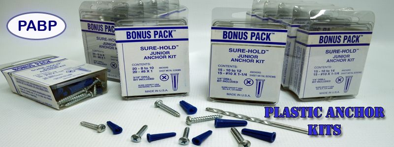 Plastic Anchors Kits