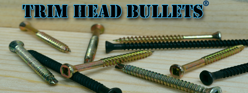 Trim Head Screws